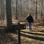 Hiking at the Cacapon State Park
